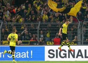 Marco Reus erzielte den Treffer des Tages