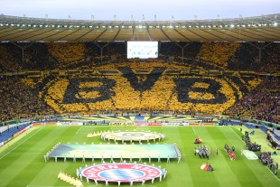 Great display by the BVB supporters before the match