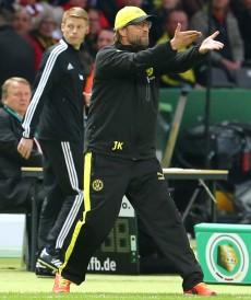 Engangiert wie immer: Trainer Jürgen Klopp