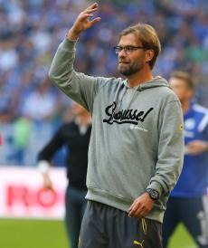 Jürgen Klopp konnte mit dem Spiel nicht zufrieden sein