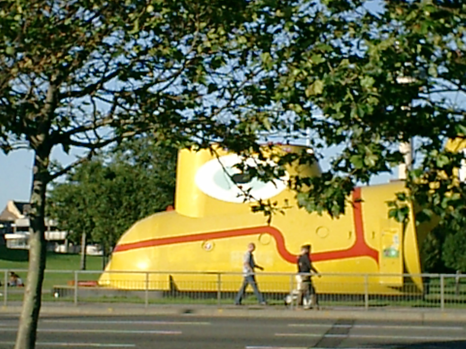 die Yellow Submarine in Liverpool