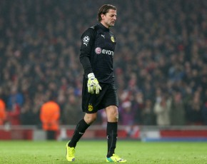 Roman Weidenfeller after the 2-0 for AFC