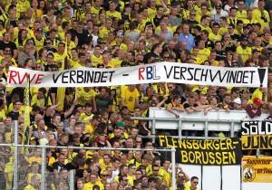 Klare Ansage im BVB Fanblock