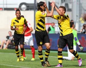 Neven Subotic erzielte das 3:0 für den BVB