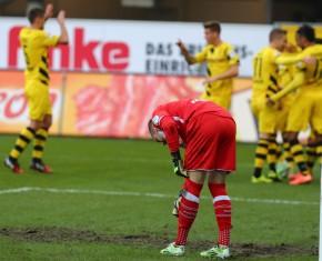 Lukas Kruse war beim 1-0 chancenlos