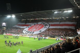 The St. Pauli stands