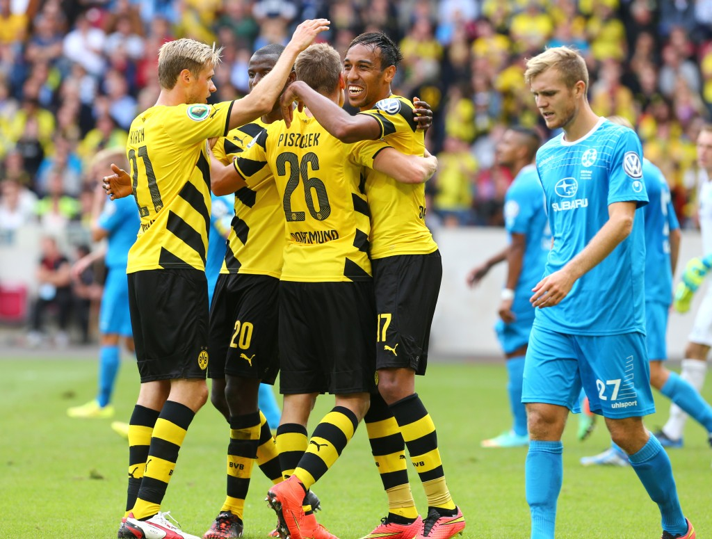 Aubameyang underlined his great form