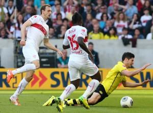 Der Wendepunkt im Spiel: Foul an Robert Lewandowski