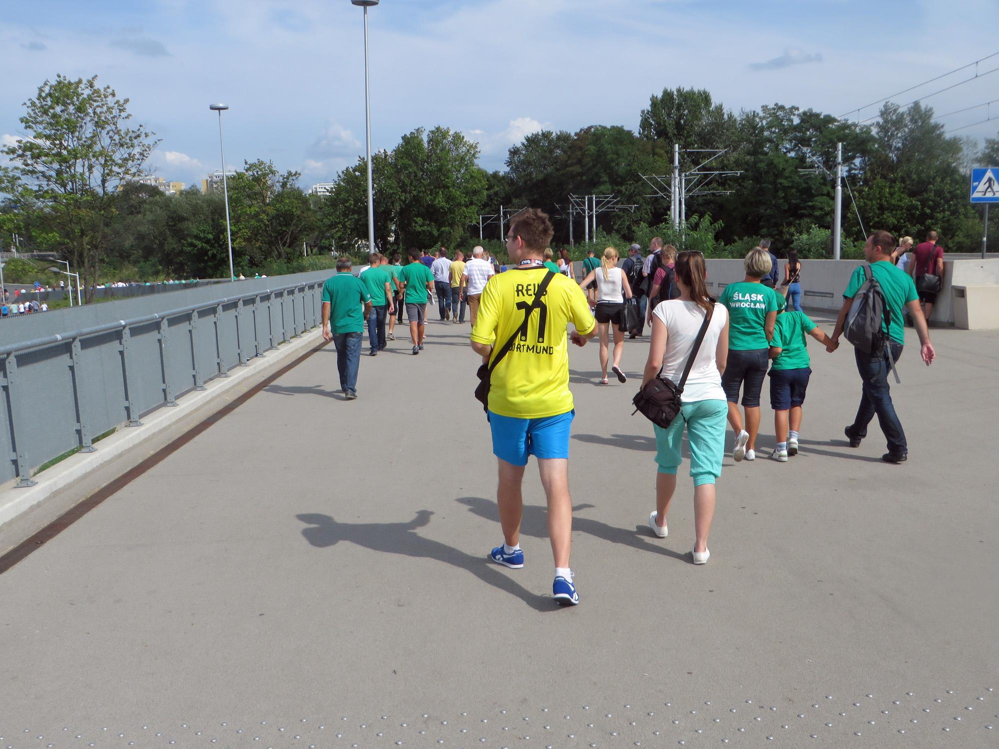 In Wroclaw - mit Reus Trikot