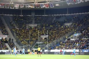 Trauriger Anblick in Hoffenheim in der Hinrunde