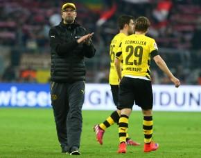 Jürgen Klopp war mit der zweiten Halbzeit durchaus zufrieden