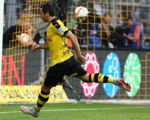 Henrikh Mkhitaryan sorgte für das beruhigende 3-0
