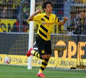 Shinji Kagawa komplettierte den Torreigen