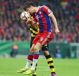 Robert Lewandowski trifft bevorzugt gegen den BVB