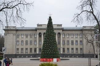 Weihnachtsstimmung in Krasnodar