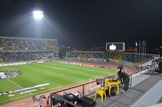 Blick ins Rund des Kuban Stadion
