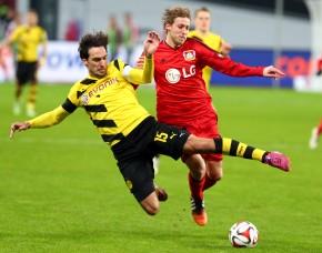 Hummels and Kiessling against Leverkusen
