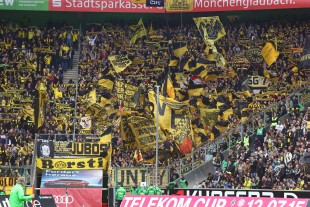 The BVB-supporters area