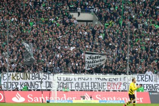 The Ultras raised a banner against Kevin Grosskreutz