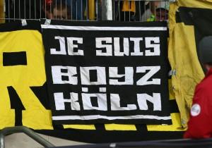 Je suis Boyz Köln Banner der Desperados