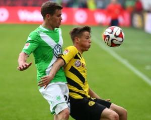 Erlebte einen finsteren Tag. Fast alle Wolfsburger Angriffe in der ersten Halbzeit gingen über ihn