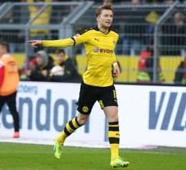 Marco Reus bejubelt den Führungstreffer