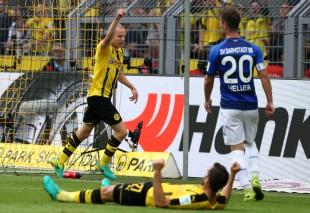 Erster Pflichtspieltreffer für den BVB: Sebastian Rode