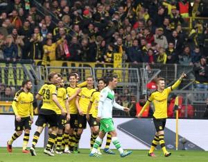 Marco Reus & Co. bejubeln das 3-0