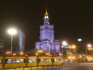 Prägt das Stadbild: Stalins Palast für Kultur und Wissenschaft