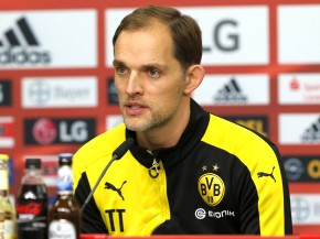 Thomas Tuchel in der PK