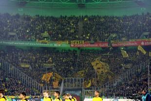 Über 6.000 BVB-Fans fanden den Weg an den Niederrhein