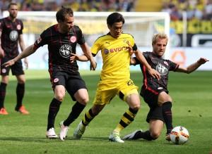 Nach dem Relegationsspiel gegen Nürnberg läuft es bei der SGE rund
