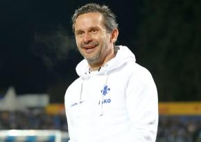 Sympathischer Trainer: Dirk Schuster