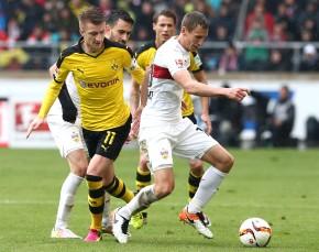 Marco Reus gegen Florian Klein