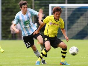 Maruoka machte sein erstes Tor für den BVB