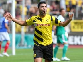Oguzhan Kefkir bejubelt das 2-0