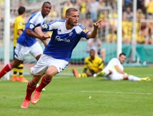Bitter für den BVB: Marc Heider traf zum 2-2
