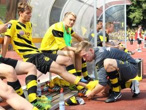 Zur Halbzeit musste Stankovic verletzt raus