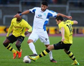Sonst waren die Stuttgarter Kickers ein Fall für unsere Zweite