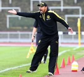 Auch Coach David Wagner war restlos bedient