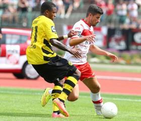 Joseph Gyau kam neu aus Hoffenheim zum BVB