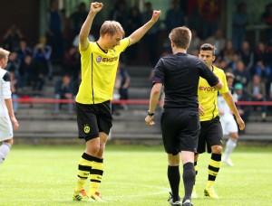 Tim schoss das 1-0 für den BVB II