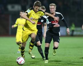 Michael Eberwein spielte im Mittelfeld