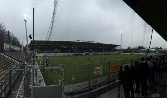 Renoviertes Stadion auf der Waldau