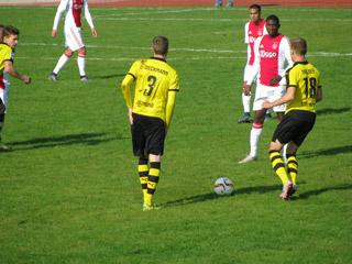 Dieckmann und Drozdek in Aktion