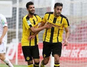 Jubel um Al Ghaddioui's Treffer zum 4-1