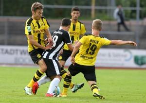 Michale Eberwein und Marco Hober gegen Nico Buckmaier