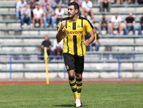 Torganrant Hamadi Al Ghaddioui feiert seinen zweiten Treffer