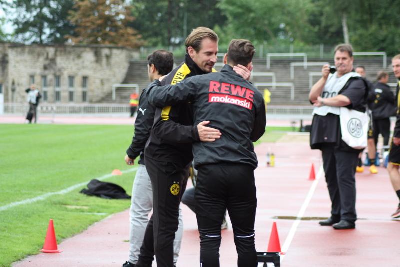 Der erste Sieg für Jan Siewert in Dortmund