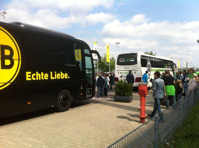 Volksfeststimmung in Gladbach